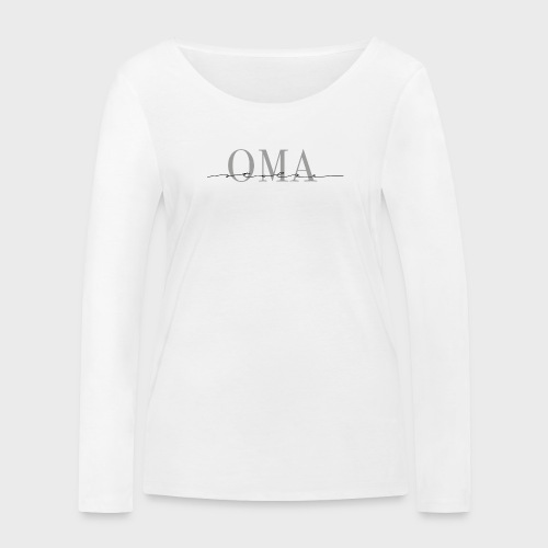 Stolze Oma – Oma & Opa Kollektion - Frauen Bio-Langarmshirt von Stanley & Stella