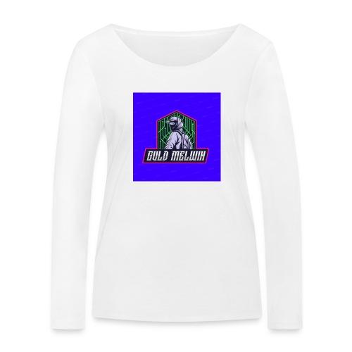 Guld Melwin - Ekologisk långärmad T-shirt dam från Stanley & Stella