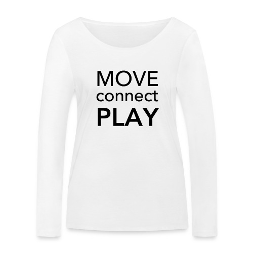 Move Connect Play - AcroYoga International - Women's Organic Longsleeve Shirt by Stanley & Stella
