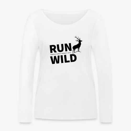 RUN WILD in Temple Yard & Beauty Hill - Frauen Bio-Langarmshirt von Stanley & Stella