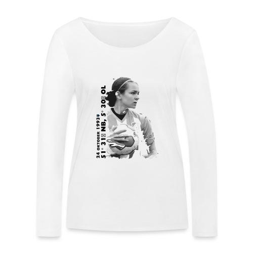 COOLEN - Vrouwen bio shirt met lange mouwen van Stanley & Stella