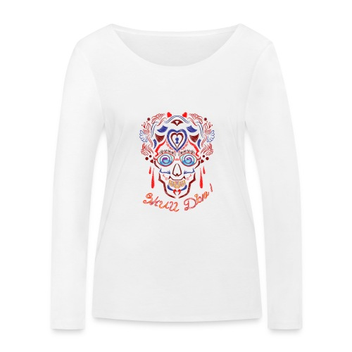 Skull Tattoo Art - Women's Organic Longsleeve Shirt by Stanley & Stella