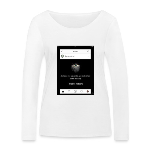 81F94047 B66E 4D6C 81E0 34B662128780 - Women's Organic Longsleeve Shirt by Stanley & Stella