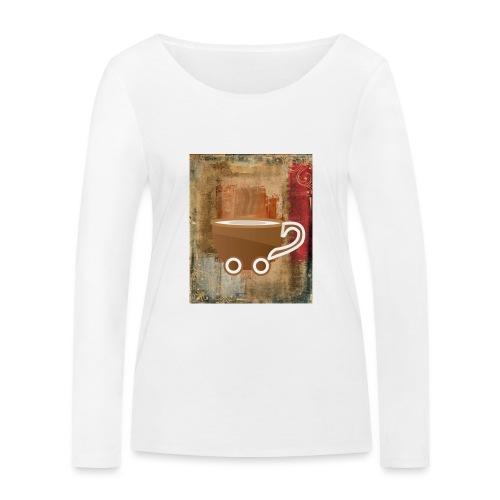 vintage coffee - Frauen Bio-Langarmshirt von Stanley & Stella