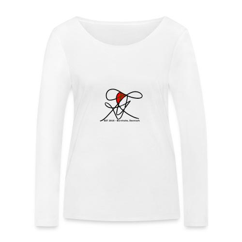 Bornholm Tee - Økologisk Stanley & Stella langærmet T-shirt til damer