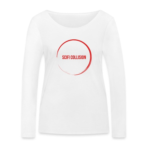 Red Logo - Women's Organic Longsleeve Shirt by Stanley & Stella
