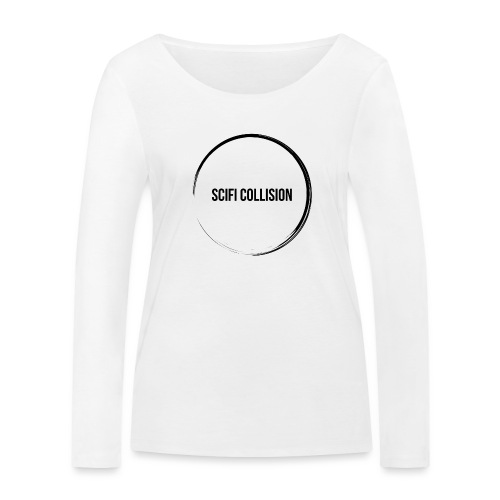 Black Logo - Women's Organic Longsleeve Shirt by Stanley & Stella