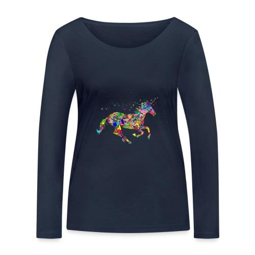 Einhorn - Frauen Bio-Langarmshirt von Stanley & Stella