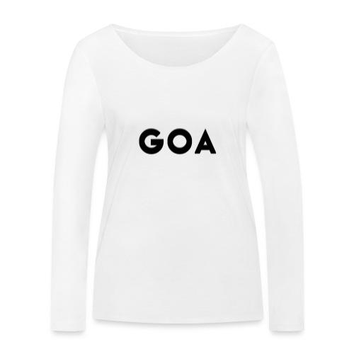 Trippy Goa - Frauen Bio-Langarmshirt von Stanley & Stella