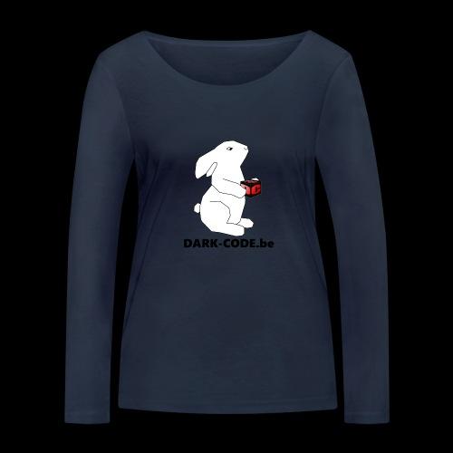 whiterabbit - T-shirt manches longues bio Stanley & Stella Femme