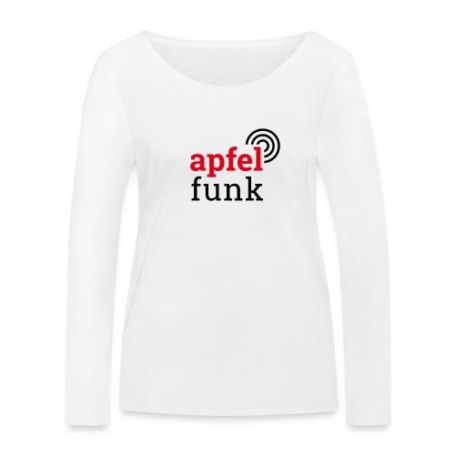 Apfelfunk Edition - Frauen Bio-Langarmshirt von Stanley & Stella