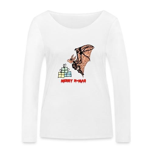 Merry X-MAS - Frauen Bio-Langarmshirt von Stanley & Stella
