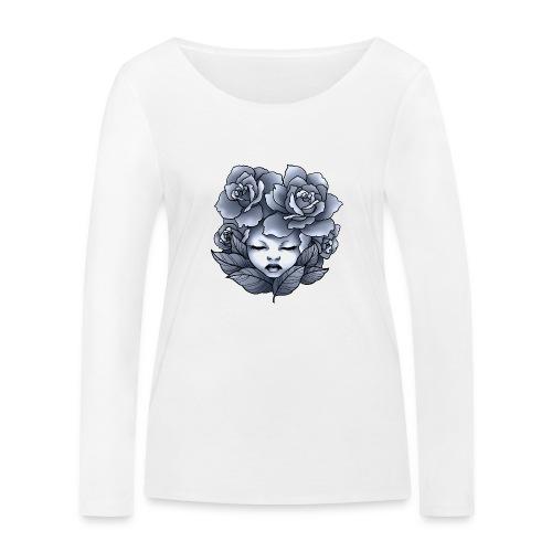 Flower Head - T-shirt manches longues bio Stanley & Stella Femme