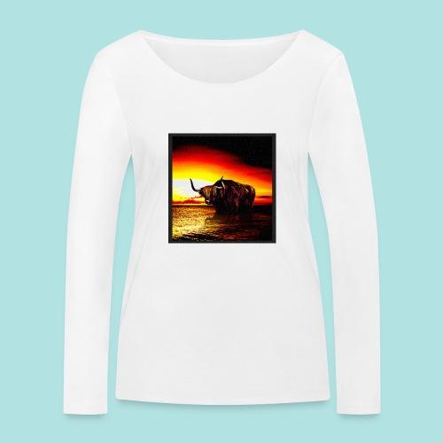 Wandering_Bull - Women's Organic Longsleeve Shirt by Stanley & Stella