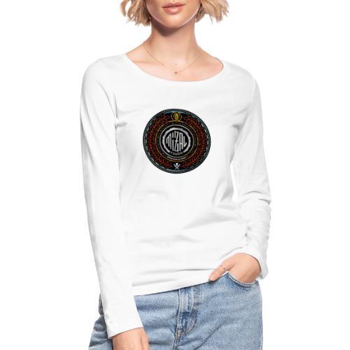 MizAl Blason - Ekologiczna koszulka damska z długim rękawem Stanley & Stella