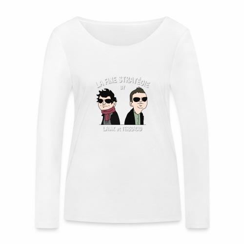 lafinestratégie - T-shirt manches longues bio Stanley & Stella Femme
