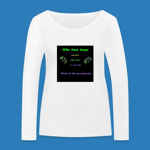 LUISJAKUBINTRO-jpg - Økologisk Stanley & Stella langærmet T-shirt til damer