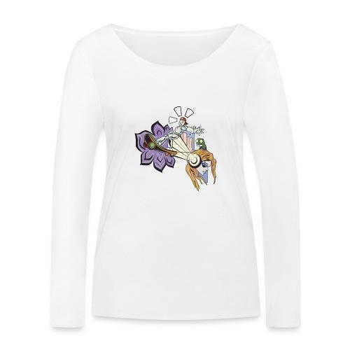 Spring Doodle - Vrouwen bio shirt met lange mouwen van Stanley & Stella