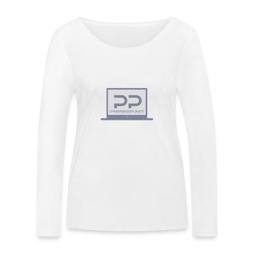 muismat met logo - Vrouwen bio shirt met lange mouwen van Stanley & Stella