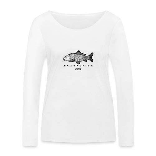 #EASY Carpe Diem T-Shirt - Maglietta a manica lunga ecologica da donna di Stanley & Stella