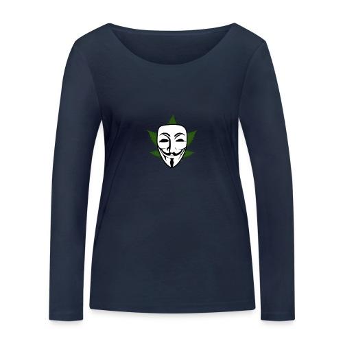 Anonymous - Vrouwen bio shirt met lange mouwen van Stanley & Stella
