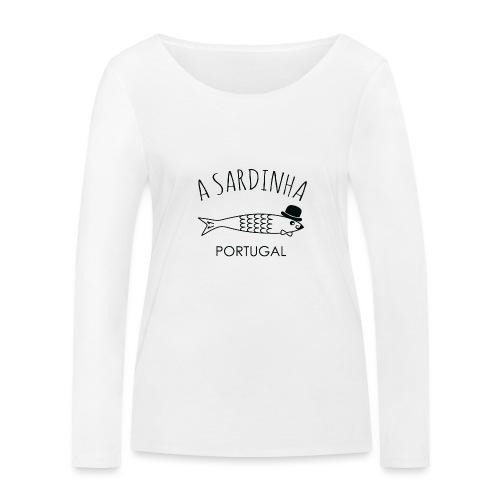 A Sardinha - Portugal - T-shirt manches longues bio Stanley & Stella Femme