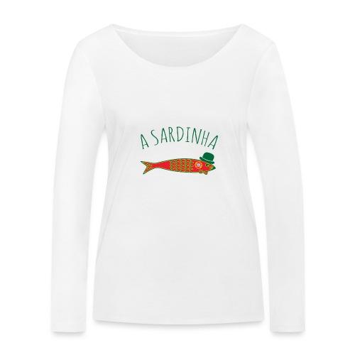 A Sardinha - Bandeira - T-shirt manches longues bio Stanley & Stella Femme