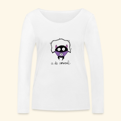 ADA Monster - Camiseta de manga larga ecológica mujer de Stanley & Stella