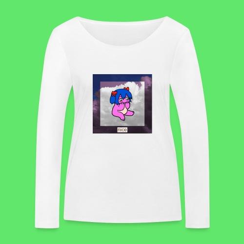 le nice girl - Women's Organic Longsleeve Shirt by Stanley & Stella