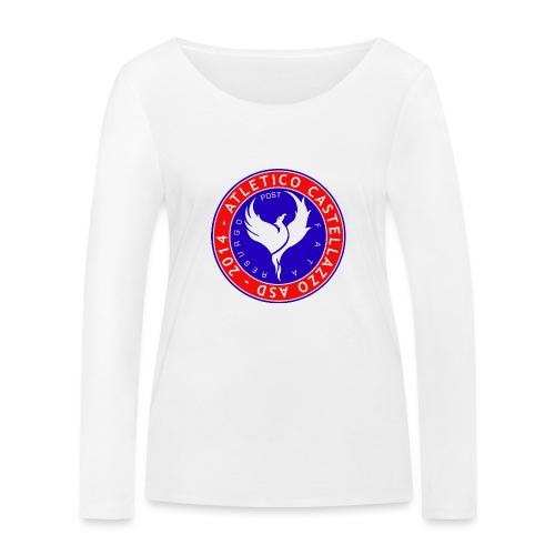 Logo Ufficiale Atletico Castellazzo - Maglietta a manica lunga ecologica da donna di Stanley & Stella