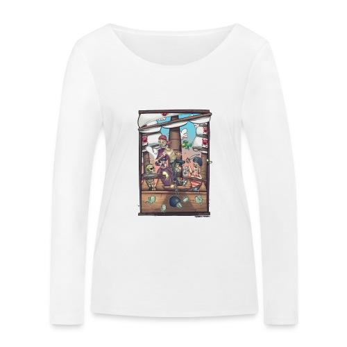 les pirates - T-shirt manches longues bio Stanley & Stella Femme