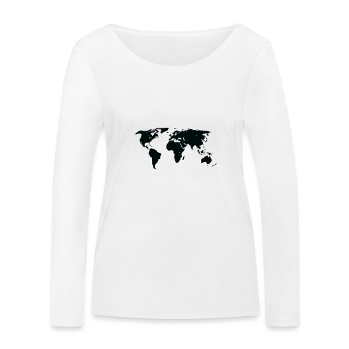 World - Økologisk Stanley & Stella langærmet T-shirt til damer
