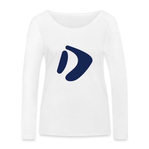 Logo D Blue DomesSport - Frauen Bio-Langarmshirt von Stanley & Stella