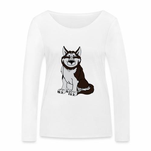 Husky - Frauen Bio-Langarmshirt von Stanley & Stella