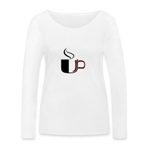 JU Kahvikuppi logo - Stanley & Stellan naisten pitkähihainen luomupaita