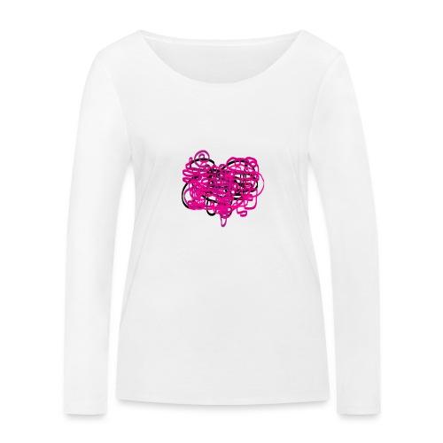 delicious pink - Women's Organic Longsleeve Shirt by Stanley & Stella