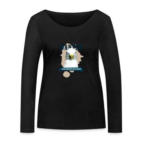 WANTED - Fischbrötchendieb - Frauen Bio-Langarmshirt von Stanley & Stella