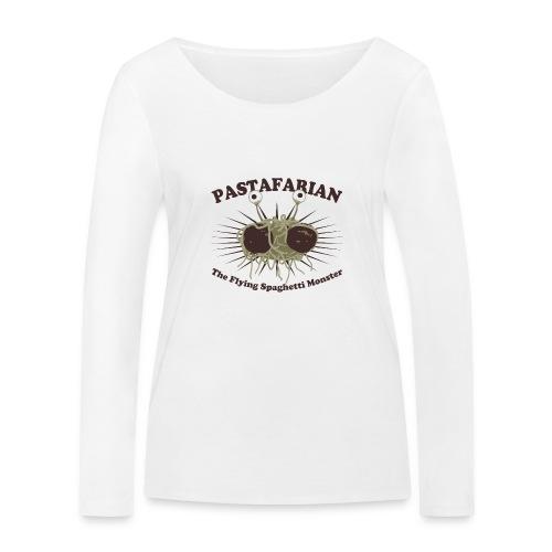 The Flying Spaghetti Monster - Women's Organic Longsleeve Shirt by Stanley & Stella