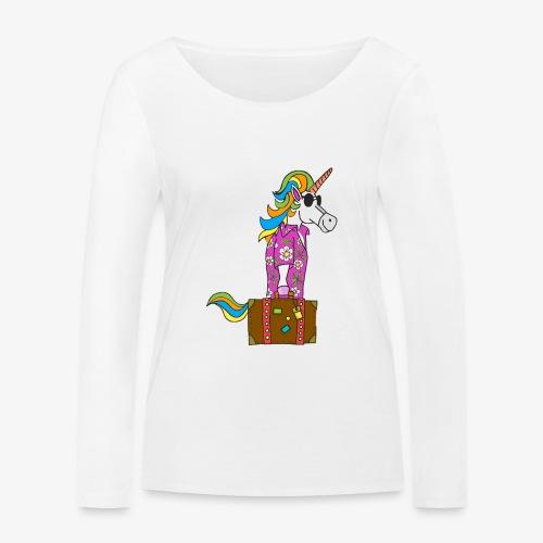 Unicorn trip - T-shirt manches longues bio Stanley & Stella Femme