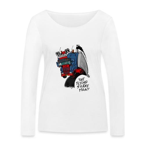 The flying skane man - Vrouwen bio shirt met lange mouwen van Stanley & Stella