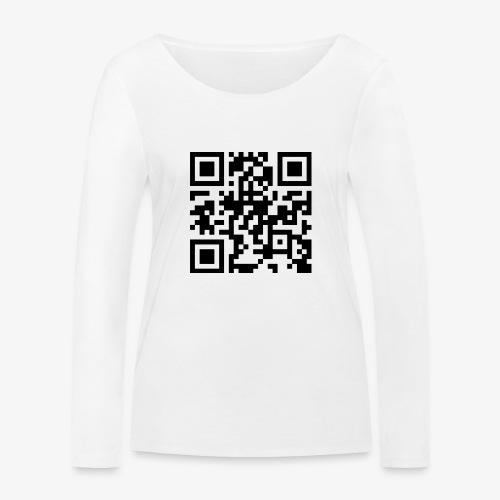 QR Code - Women's Organic Longsleeve Shirt by Stanley & Stella