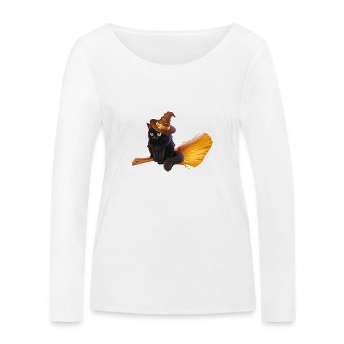 Gato Brujo - Camiseta de manga larga ecológica mujer de Stanley & Stella