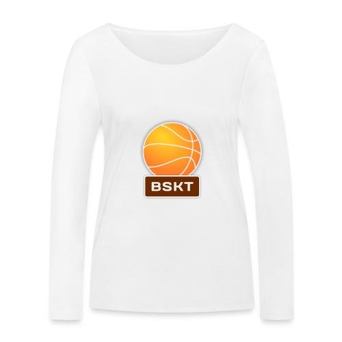 Basket - Camiseta de manga larga ecológica mujer de Stanley & Stella