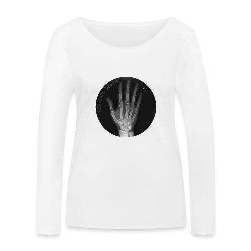 Des gars des os by JARL - T-shirt manches longues bio Stanley & Stella Femme