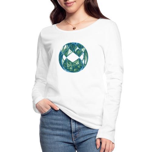 Harmony in the Ocean of Elements 446oce - Women's Organic Longsleeve Shirt by Stanley & Stella