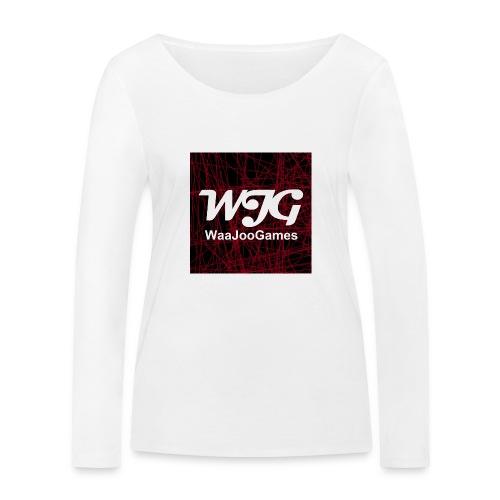 T-shirt WJG logo - Vrouwen bio shirt met lange mouwen van Stanley & Stella