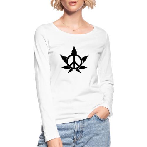 Peace - Frauen Bio-Langarmshirt von Stanley & Stella