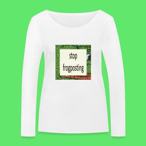 Frogposter - Women's Organic Longsleeve Shirt by Stanley & Stella