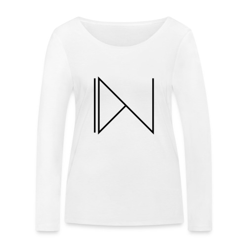 Icon on sleeve - Vrouwen bio shirt met lange mouwen van Stanley & Stella