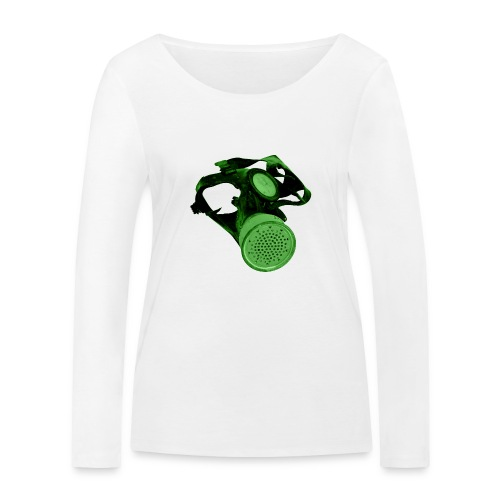 gas shield - Women's Organic Longsleeve Shirt by Stanley & Stella